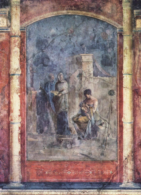 Römischer Meister - Die Erziehung des Dionysos